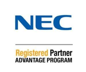 NEC Registered Logo Vertical