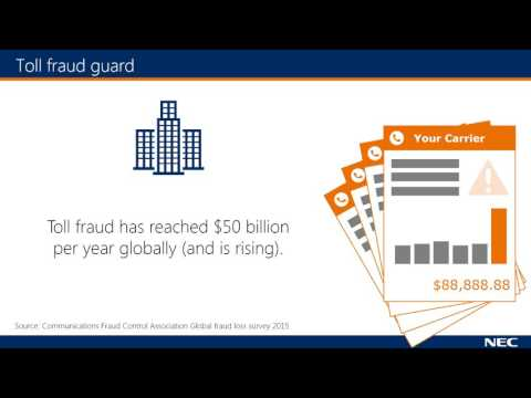 nec sv9100 toll fraud guard